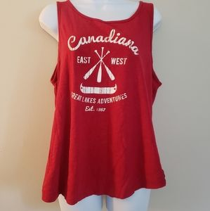 Size XL Canadiana Tank Top